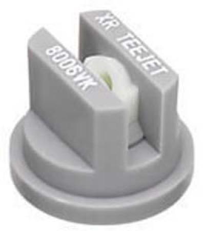 XR TeeJet Grey Acetal-Ceramic Extended Range Flat Spray Tip Nozzle