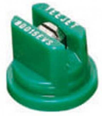 TeeJet Racing Green Acetal-Stainless Steel VisiFlo Flat Spray Tip Nozzle