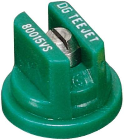 DG TeeJet Racing Green Acetal-Stainless Steel Drift Guard Flat Spray Tip Nozzle