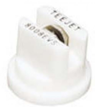 TeeJet White Acetal-Stainless Steel Even Flat Spray Tip Nozzle