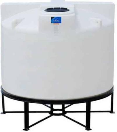 1550 Gallon Cone Bottom Tank w/ Stand