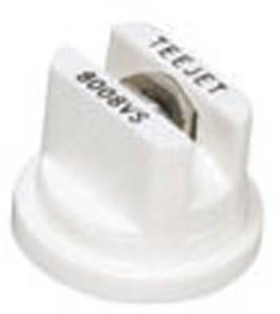 TeeJet White Acetal-Stainless Steel VisiFlo Flat Spray Tip Nozzle