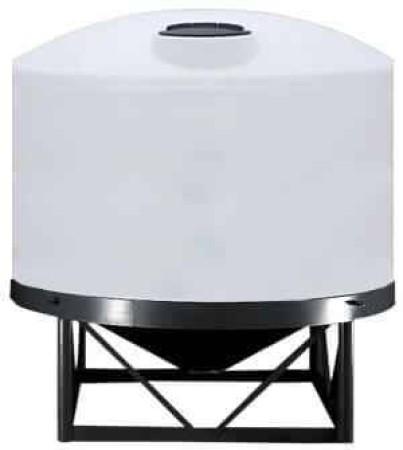 7500 Gallon Cone Bottom Tank w/ Stand