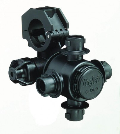 """1"""" Pipe 4 Outlet Multiple Nozzle Body Assembly for Wet Applications"""