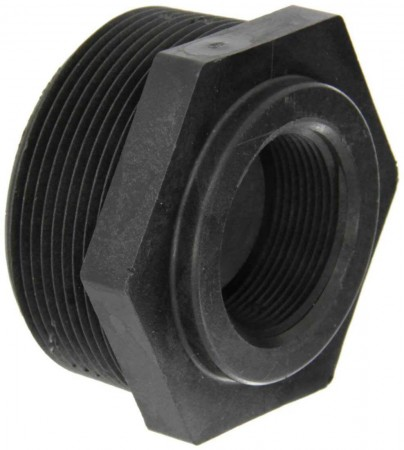 """Pipe Reducer Bushing Fitting - 3"""" MPT x 1 1/2"""" FPT"""