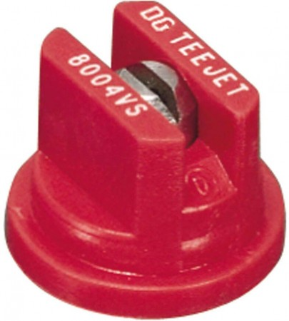 DG TeeJet Red Acetal-Stainless Steel Drift Guard Flat Spray Tip Nozzle