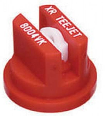 XR TeeJet Red Acetal-Ceramic Extended Range Flat Spray Tip Nozzle