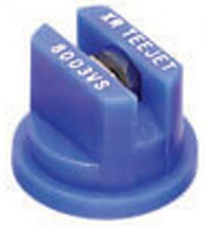 XRC TeeJet Blue Acetal-Stainless Steel Extended Range Flat Spray Tip Nozzle