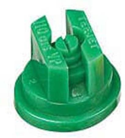 TeeJet Racing Green Acetal Polymer VisiFlo Flat Spray Tip Nozzle