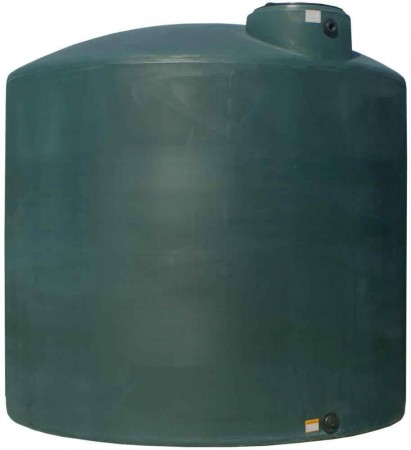 5000 Gallon Plastic Water Storage Tank
