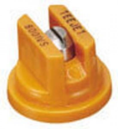 TeeJet Orange Acetal-Stainless Steel VisiFlo Flat Spray Tip Nozzle