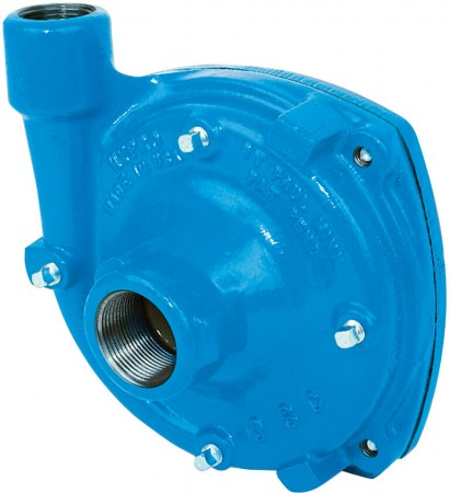 """Gear Driven Cast Iron Centrifugal Pump with 1-1/4"""" NPT Inlet x 1"""" NPT Outlet"""