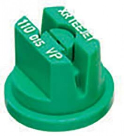 XR TeeJet Racing Green Acetal Polymer with cap/gasket Extended Range Flat Spray Tip Nozzle