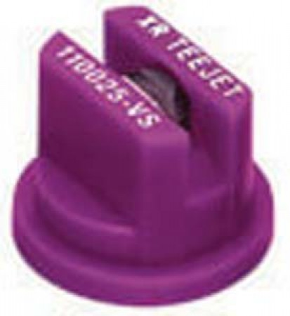 XRC TeeJet Lilac Acetal-Stainless Steel Extended Range Flat Spray Tip Nozzle