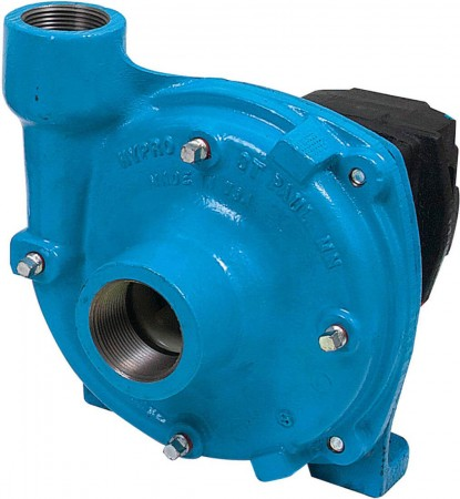 """Hydraulic Cast Iron Centrifugal Pump with 1-1/2"""" NPT Inlet x 1-1/4"""" NPT Outlet"""