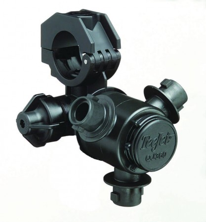 """1"""" Pipe 3 Outlet Multiple Nozzle Body Assembly for Wet Applications"""