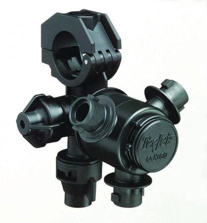 """1"""" Pipe Multiple Nozzle Body Assembly for Wet Applications"""
