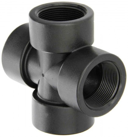 """Pipe Cross Fitting - 2"""" FPT"""