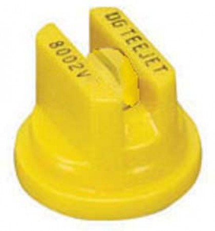 DG TeeJet Yellow Acetal Polymer Drift Guard Flat Spray Tip Nozzle
