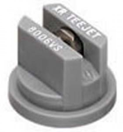 XRC TeeJet Grey Acetal-Stainless Steel Extended Range Flat Spray Tip Nozzle