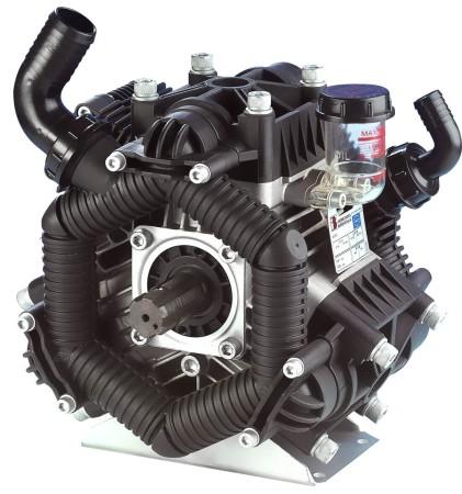 """4.8 HP Aluminum Poly Diaphragm Pump -  2"""" HB Inlet x 1"""" NPT Outlet"""