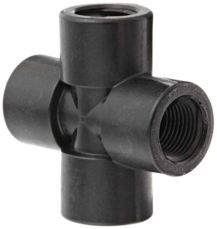 """Pipe Cross Fitting - 3/8"""" FPT"""