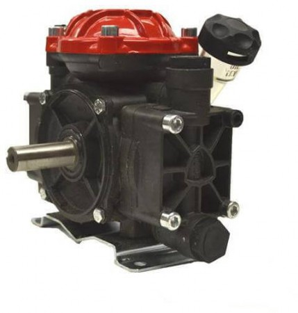 "Diaphragm Pump with 3/4"" HB Inlet x 3/8"" HB Outlet"