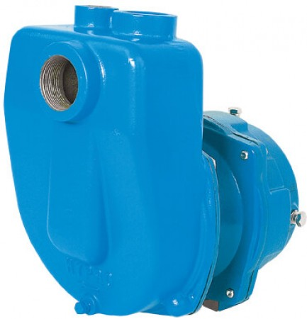 """Gear Driven Cast Iron Centrifugal Pump with 1-1/2"""" NPT Inlet x 1-1/4"""" NPT Outlet"""
