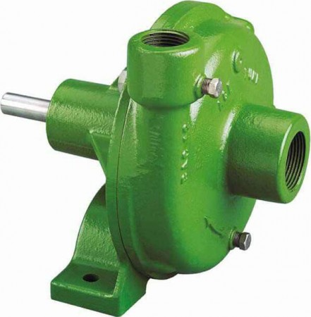 """Belt Driven E-coated Cast Iron Pump with 2"""" Suction x 1-1/2"""" Discharge"""