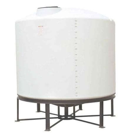 1700 Gallon Cone Bottom Tank w/ Stand