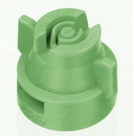 XRC TeeJet Racing Green Acetal Polymer Extended Range Flat Spray Tip Nozzle
