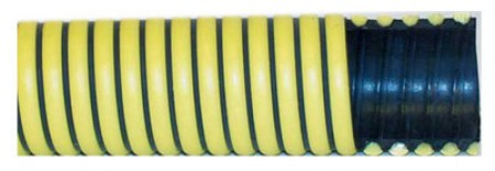 "3"" Black/Yellow Fertilizer Suction Hose / ft"