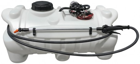 25 Gallon Spot Sprayer w/ 1.0 GPM Everflo Pump & Spray Wand