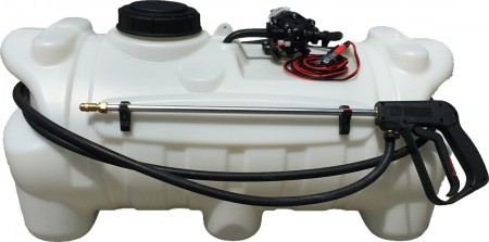 25 Gallon Spot Sprayer w/ 2.2 GPM Delevan Pump & Pistol Spray Gun