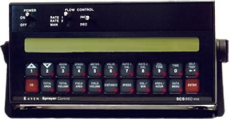 SCS 660 Control Console
