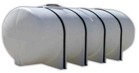 1850 Gallon Elliptical Leg Tank with Bands