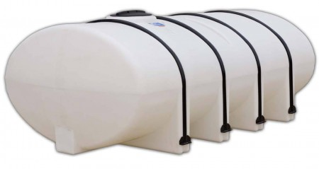 1610 Gallon Elliptical Leg Tank with Bands