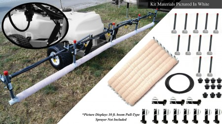 15' Weed Wiper Self-Propelled Sponge Kit