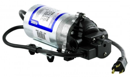 "115 Volt Automatic-Demand High Pressure Electric Pump with 6' Power Cord - 3/8"" NPT"