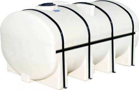 2750 Gallon Elliptical Leg Tank with Bands