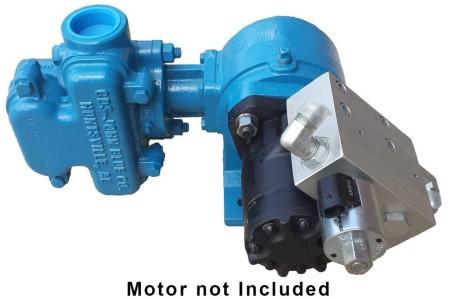 """Cast Iron Piston Pump -  2"""" NPT Inlet x 2"""" NPT Outlet"""