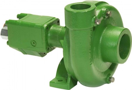 "Ace 202 Hydraulic Driven Cast Iron Pump with 1-1/4"" Suction x 1"" Discharge"