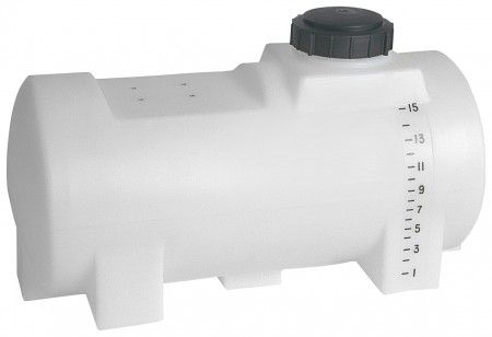 15 Gallon Drainable Leg Tank