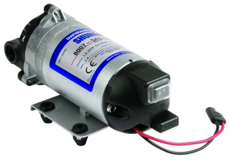 """12 Volt Electric Pump with 3/8"""" NPT Inlet x 3/8"""" NPT Outlet"""
