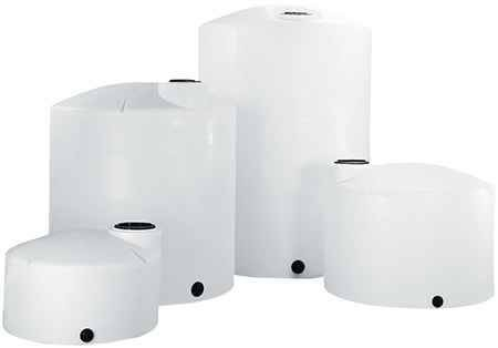 15500 Gallon Plastic Vertical Storage Tank