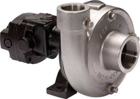 """Ace 304 Hydraulic Driven 316 Stainless Steel Pump with 2"""" Suction x 1-1/2"""" Discharge"""