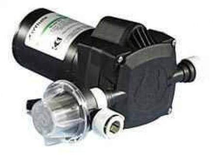 "Electric Poly 12 Volt Pump -  15"" mm Inlet x 15"" mm Outlet"