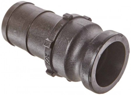 """Cam Action Adapter Fitting - 2"""" Male Adapter x 2"""" Hose Shank"""