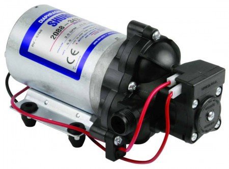 """12 Volt Electric Pump with 1/2"""" NPT Inlet x 1/2"""" NPT Outlet"""