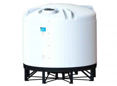 4200 Gallon Cone Bottom Tank w/ Stand